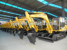 small good crawler Excavator, 7 ton weight, Yuchai engine, steel tracked