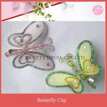 Girls butterfly hair clip