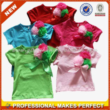 Wholesale kids t shirt from Guangdong manufacturer(YCT-B0164)