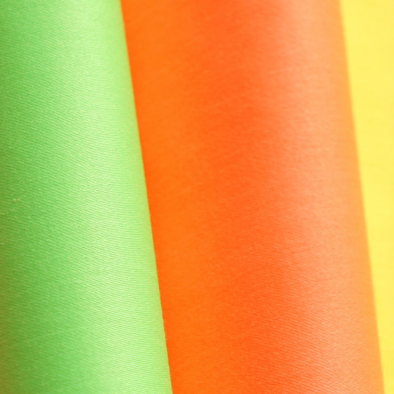 pigment dyed fluorescent cotton fabric, high Visibility cotton twill, cotton poplin fabric