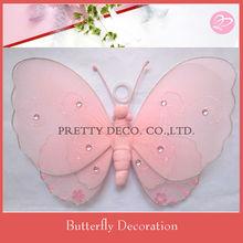 Nylon butterfly garden art