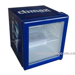Glass door fridge, table top cooler
