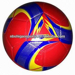 machine stitching pvc soccerball