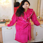 Wholesale 100% Polyester Microfiber Luxury Bath Robes