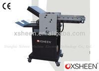 Automatic paper folding machine Fed Suction Paper Folder Machine