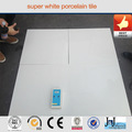 super nano blanco pulido azulejos de porcelana