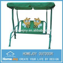 Popular selling best lovely garden kids swing chair