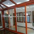 wanjia caliente venta de puerta corredera de aluminio