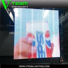 Transparent glass led screen xx video china