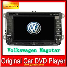 Car in dash DVD GPS special for Volkswagen Magotan with 1 original camera for Volkswagen Magotan FREE GIFT