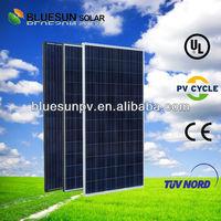 2014 Year Bluesun High quality Poly 800w solar panel