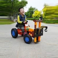Good quality Children Bike Kids Ride On Toy Crane Mini lift up truck