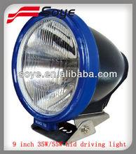 Latest Model 9'' HID Offroad Running Headlight, 35/55W HID Working Light for Mining, Marnie, 4WD UTV Spot Light