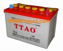 Professional lead acid 12V car bttery N70