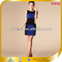Latest Fashion Stitching One Piece Girls Party Frock Dresses Designs for Hot Sale