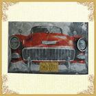 Metal antique car design wall hangings