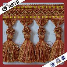 China Wholesale Handbag Shoulder Bag Decorative Trim Initial Chart Tassel