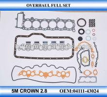 cylinder head gasket kit for TOYOTA 5M