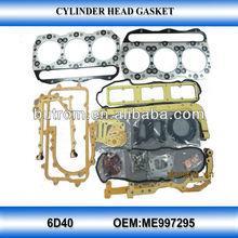 repair gasket set for 6D40 mechanical engineering vehicles