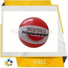 customized size transparent beach ball toy,lovely pvc beach ball,basket beach ball inflatable