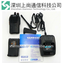 Portable H777 Radio Walkie Talkie UHF 5W 16CH 2 Two-Way Single Band Interphone