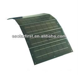 monocrystalline silicon semi flexible solar panel for boat,yatch,caravan,roof
