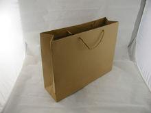 Mi015 Natual Customized Brown Kraft Paper Bag