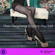 P0021 Yiwu Fenghui 2014 girl's thin glossy fashion classic breathable pantyhose
