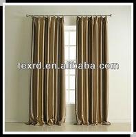 blackout stripe office window curtain