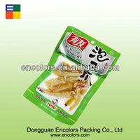 Hot sale plastic vacuum bag for chicken feet