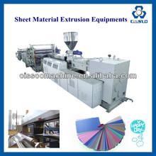 WOOD PLASTIC COMPOSITE SHEET EXTRUSION LINE/WOODEN FLOOR BOARD MAKING MACHINE