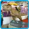 Theme park kids entertainment robotic dinosaur rides
