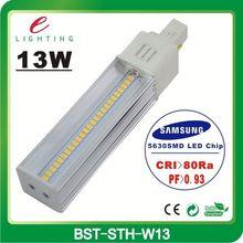 First class cooling design Samsung SMD5630 gx24q 3 led light