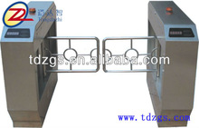 China Handicap Gate System Swing Barrier Gate With A High Transit Speed For 30 Person Per Minute
