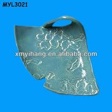 Special triangular designed ceramic Plate Dishes