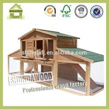 SDR14 wooden rabbit house rabbit hutch rabbit cage