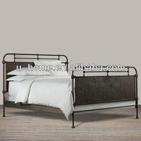 Vintage Industrial Metal Bed (I3030-K)