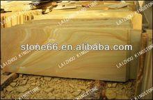 yellow wooden vain sandstone