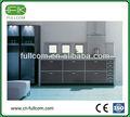 cinza esfumaçado pvc armários de cozinha