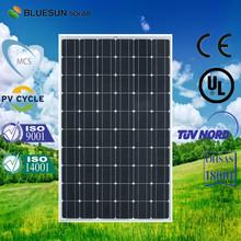 High quality monocrystalline sun power solar panel 250w