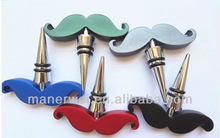 Manufacturers selling mustache wine bottle opener,wine opener for promotion project