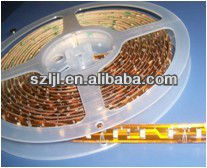 (LED Strip Series) IP65 SMD 3528 Flexible LED Strip Surface glue Waterproof(CE&RoHS Compliant)