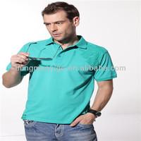 2015 fashion plain 100% cotton pk polo men'sT-shirt clothing