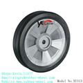 8 pead polegadas roda de borracha para a máquina de limpeza