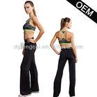 90% polyester 10% spandex custom girls gym suit