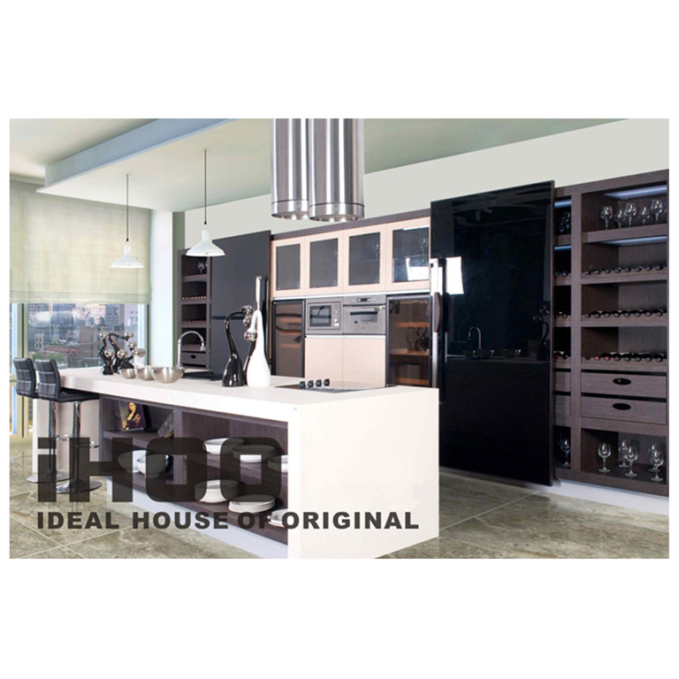 Ak306 ready made kitchen unit design made in china view for Ready made kitchen units