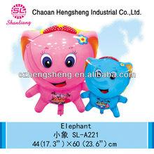 Party cartoon customized inflatable elephant