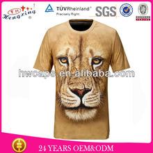 Creative Mens tiger animal print 3d t shirts