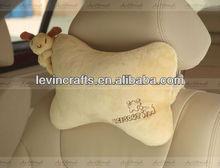 LE h1685 bone+koala bear shaped neck rest pillow cushion