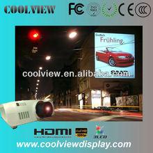 high brightness 10000 lumens full HD 1080P outdoor building projector